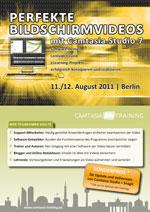 Flyer zu Camtasia Studio 7 Training 2011 herunterladen
